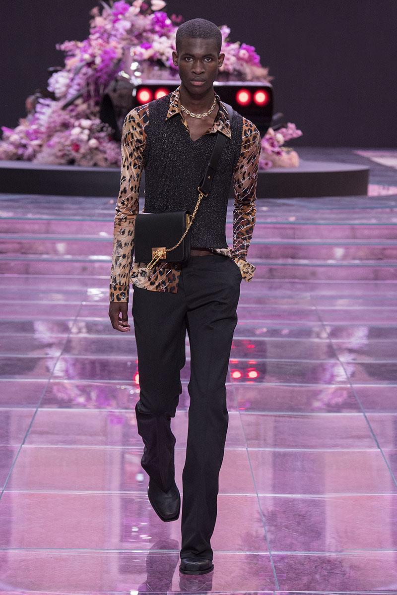 Versace menswear primavera/verano 2020