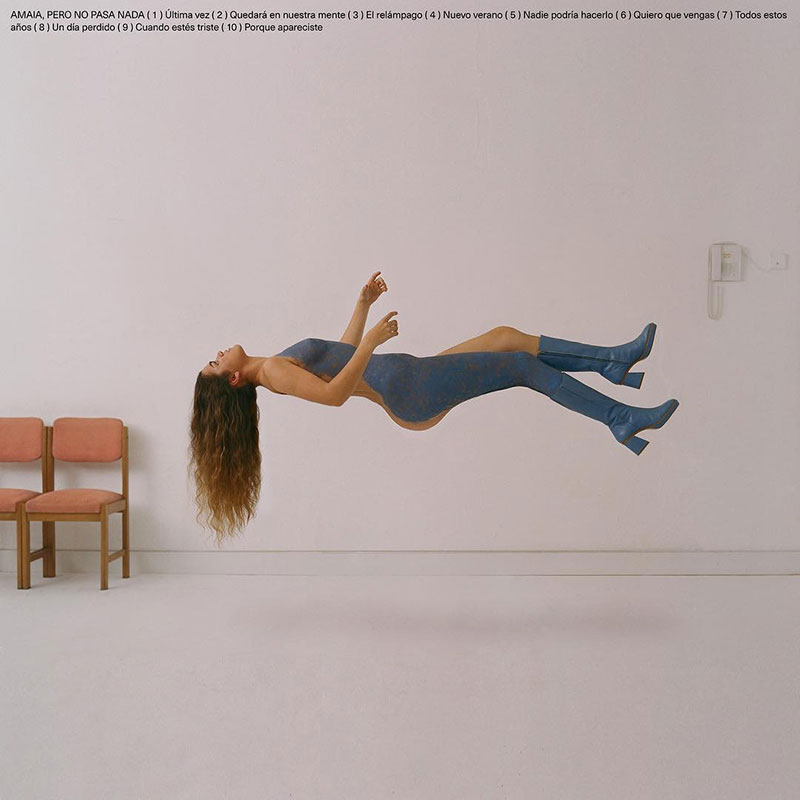 Amaia, desnuda en la portada de su primer disco :)