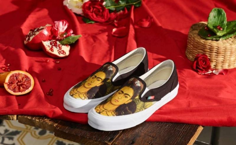 Frida Kahlo x Vans, colección de zapatillas con mucho arte