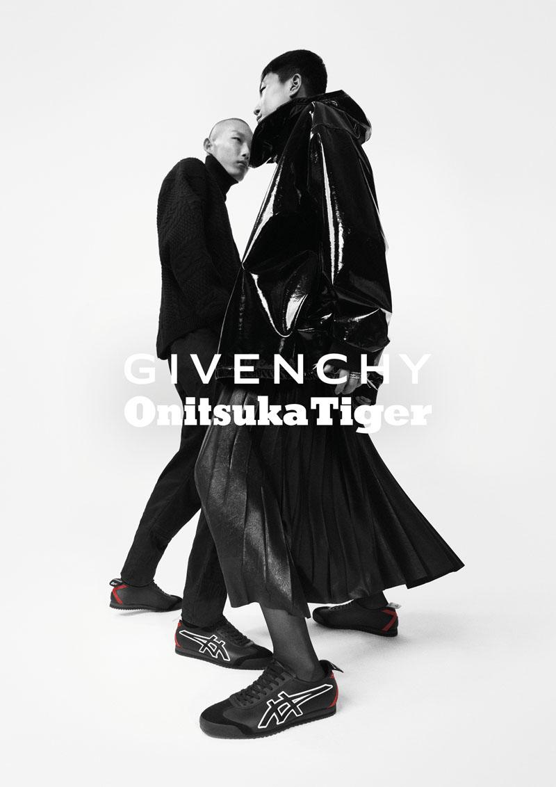 Givenchy colabora con Onitsuka Tiger