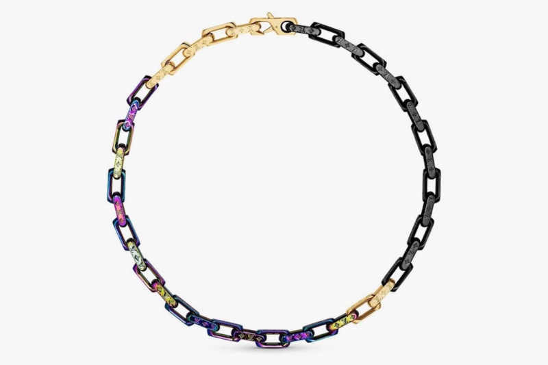 Las joyas estilo hip hop de Virgil Abloh para Louis Vuitton