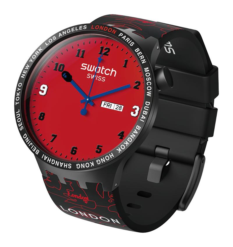 Swatch x Bape: El reloj más internacional