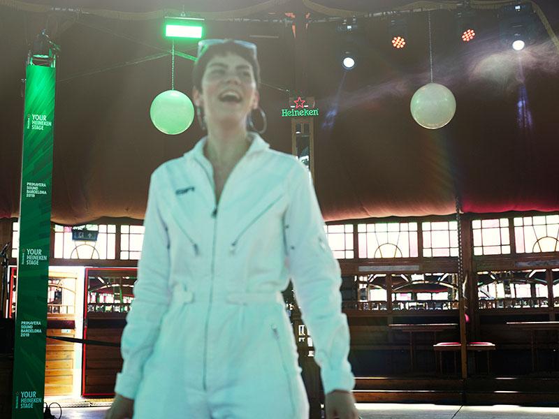Un día con r.e.a.l en Your Heineken Stage