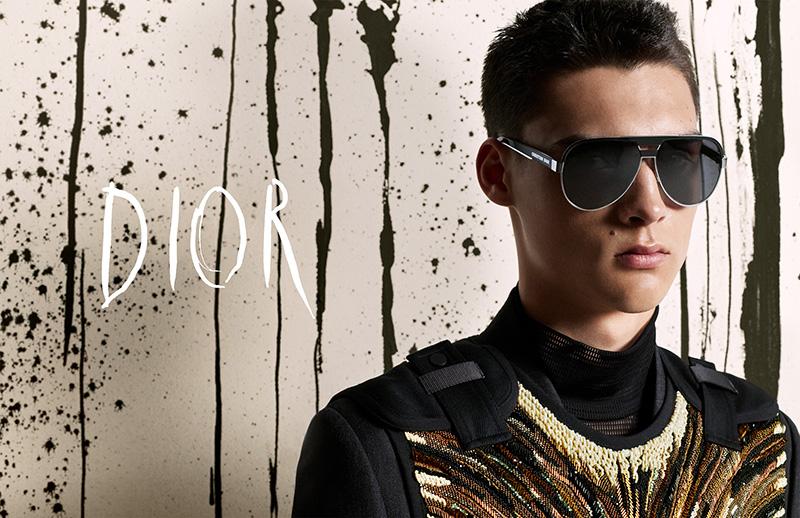 La nueva campaña de Dior Men FW19 es puro arte