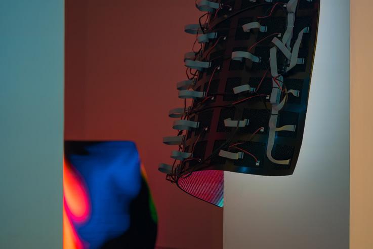 Daniel Canogar - Tecnología líquida y color - entrevista