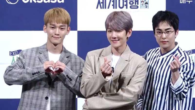 Minseok y Exo enloquecen a sus fans en el concierto de ayer
