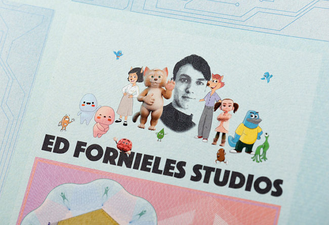 Ed Fornieles. Impresiones criptográficas de artista