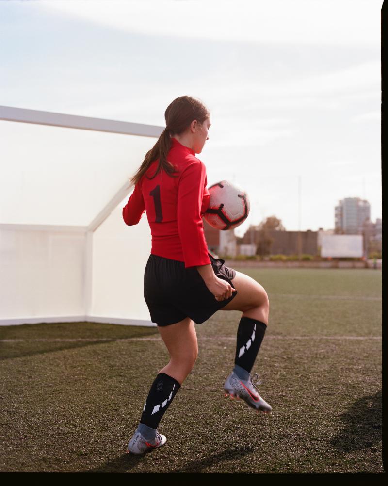 El fútbol femenino está de moda