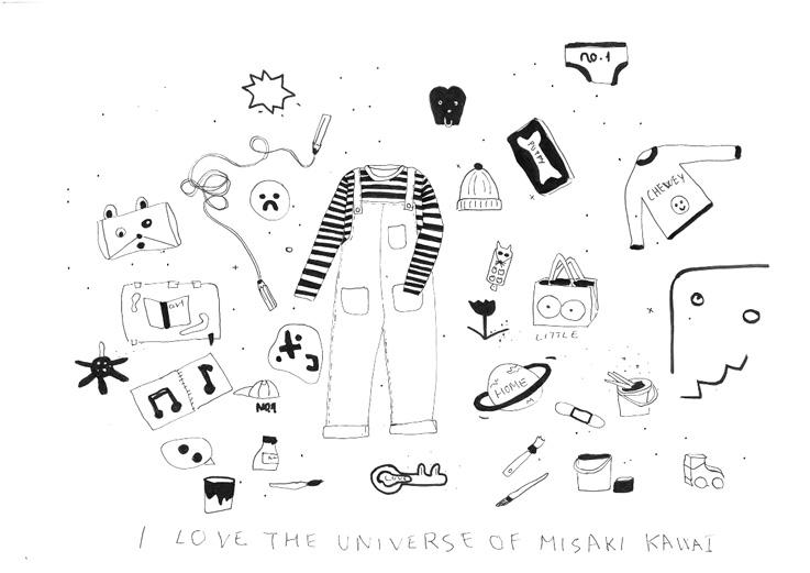 Los dibujos de Little en la Galería Espacio Nuca