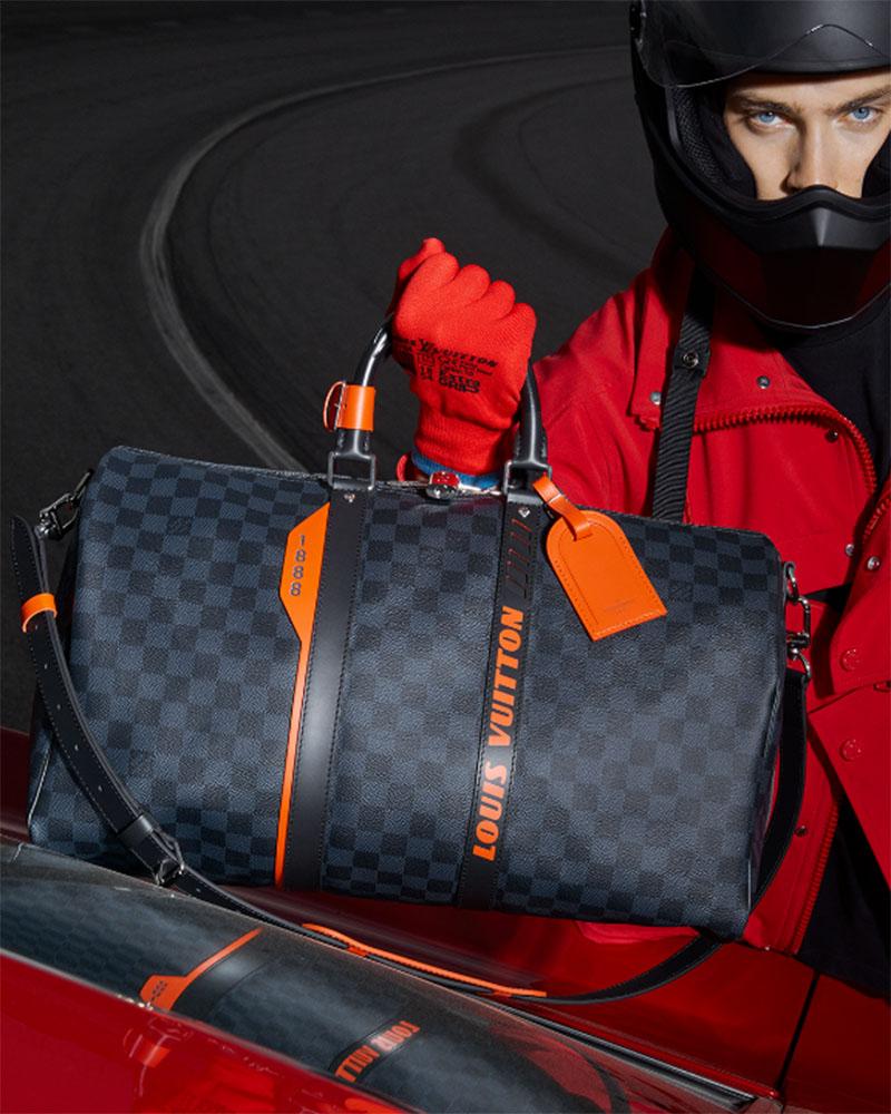 Colección cápsula Louis Vuitton: Damier Cobalt Race