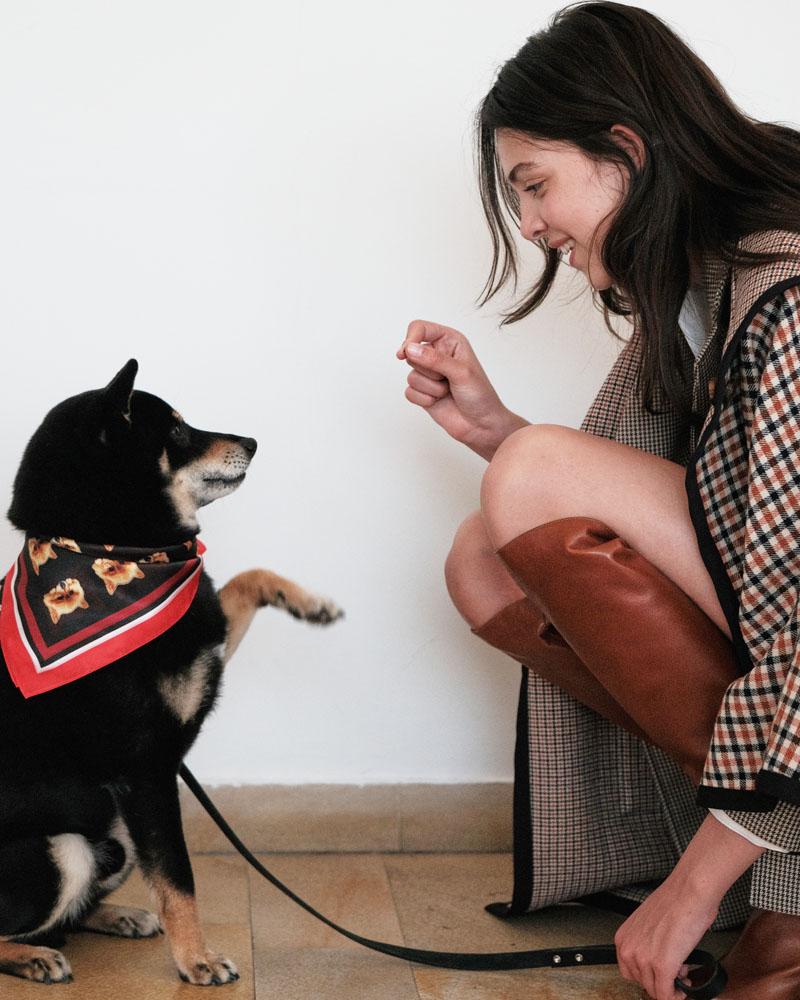 Muchos selfies y un perro en la nueva colección de Maje