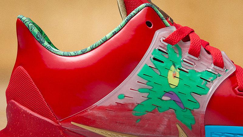 Paseo Feudo para agregar  Nike Kyrie x Bob Esponja, la colección que te trasportará a Fondo de Bikini