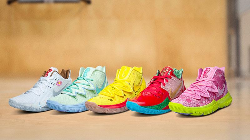 Las Nike Kyrie 5 llegan a Fondo de Bikini