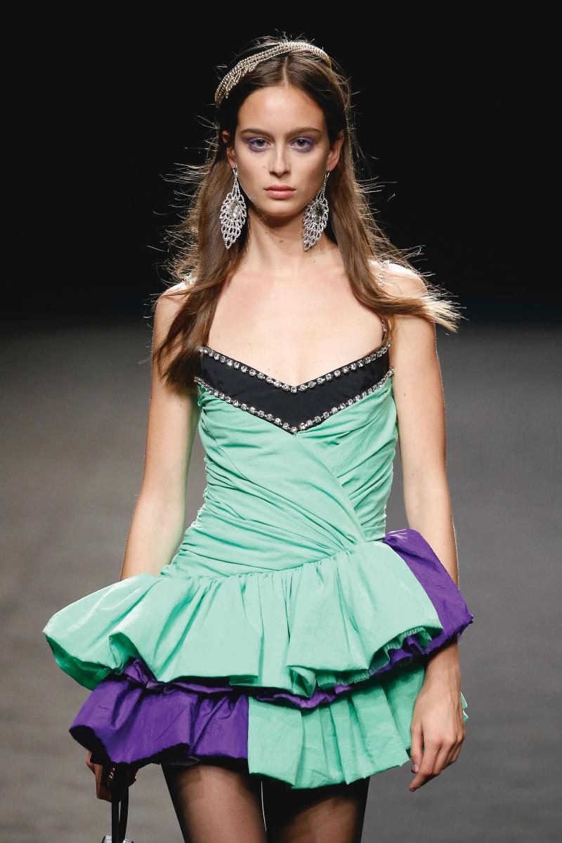 María Escoté SS20, el reciclaje de la ropa está de moda