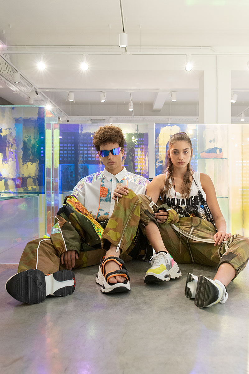 Editorial de moda en los templos madrileños de zapatillas