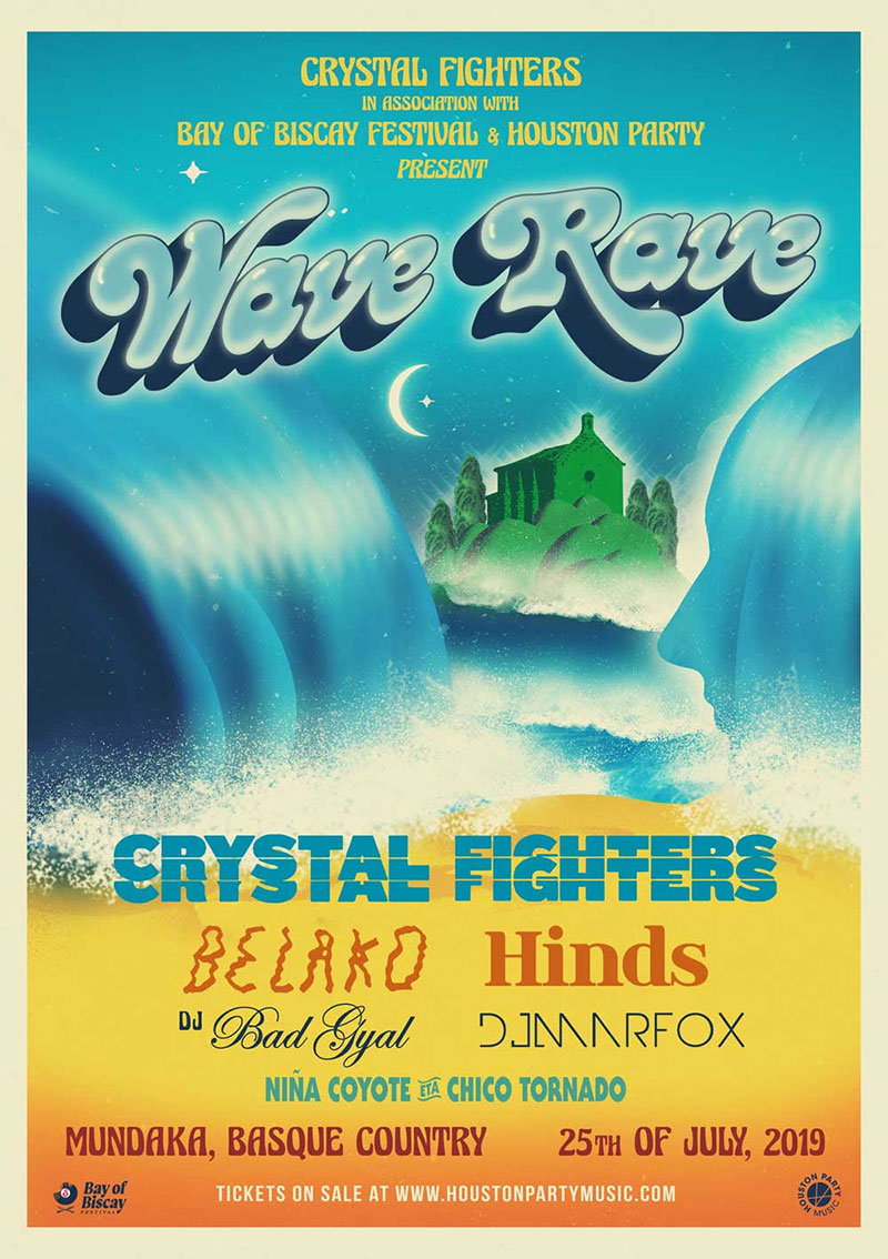 Crystal Fighters y Hinds la lían en la Wave Rave de Bermeo