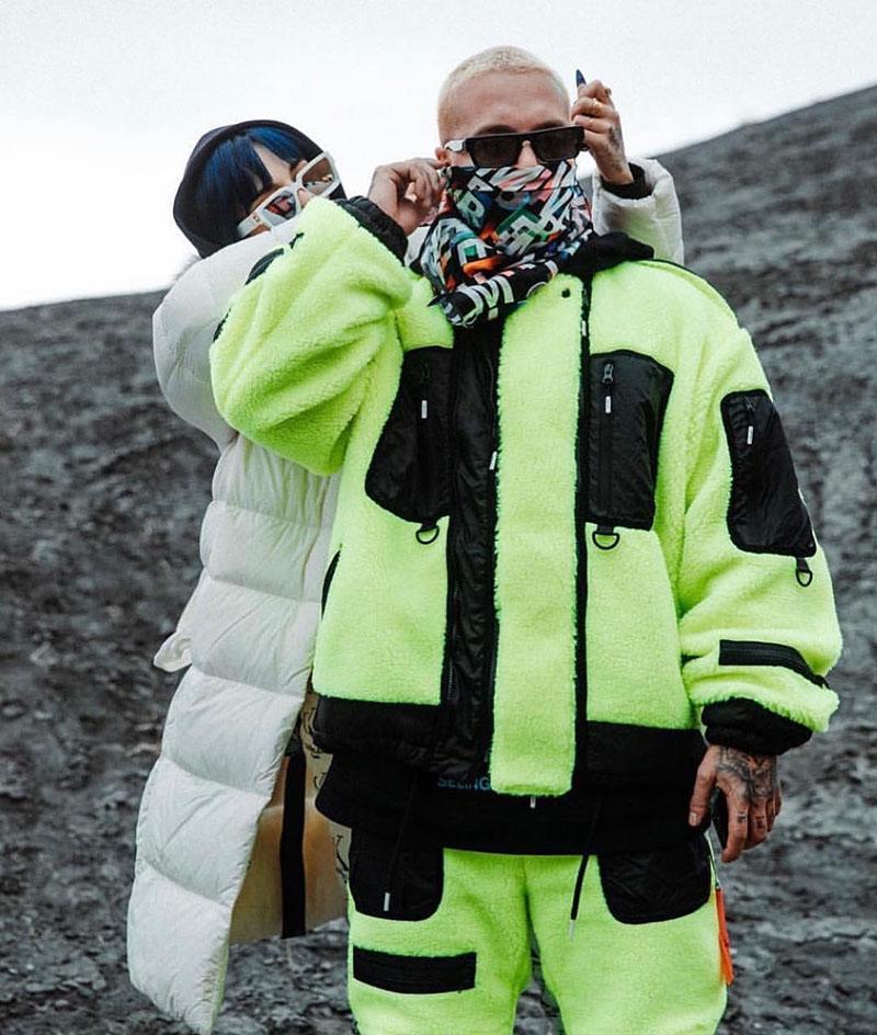 J Balvin y Pharrell Williams comparten pantalones