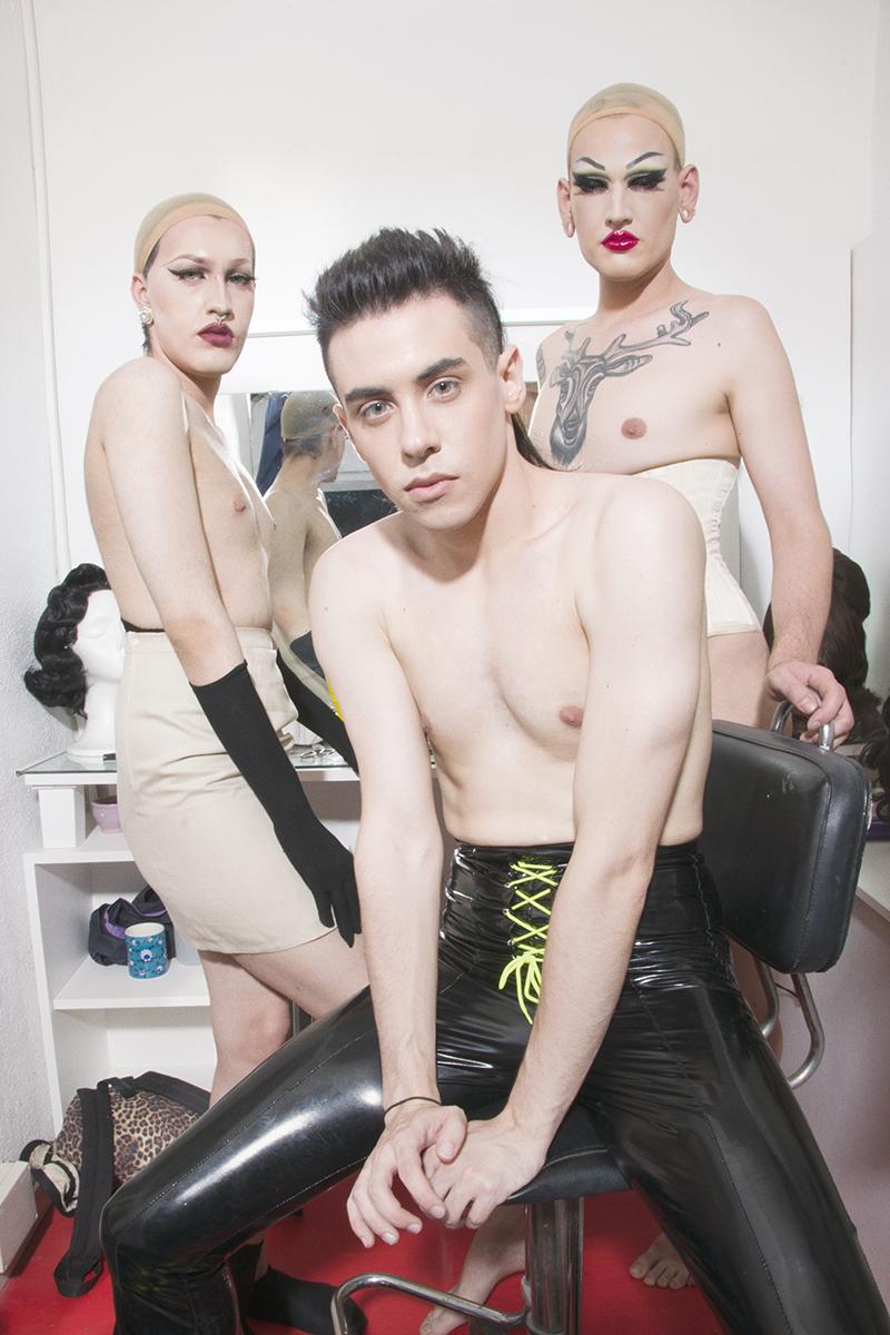 Ácido, Azabel y Steah, tres artistas Drag en Barcelona