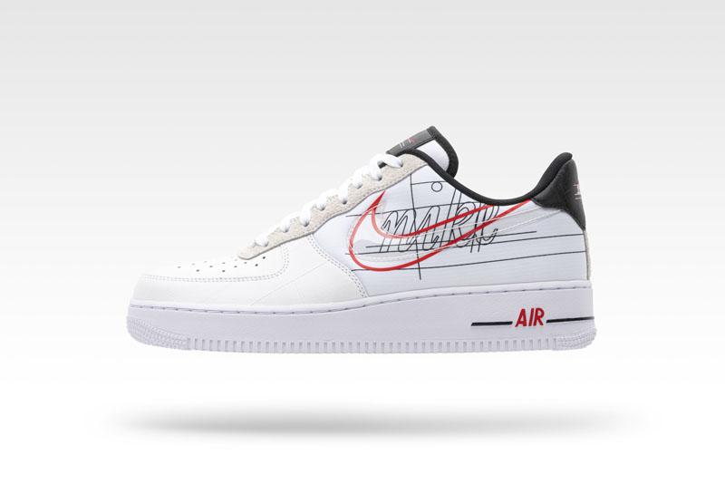 El logo de Nike se multiplica por tres