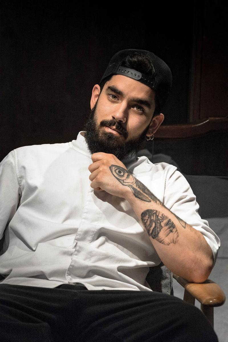 El chef Xabi Guitart o cómo comerse el mundo