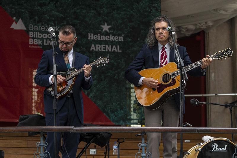 Los Hermanos Cubero en Bereziak del Bilbao BBK Live 2019