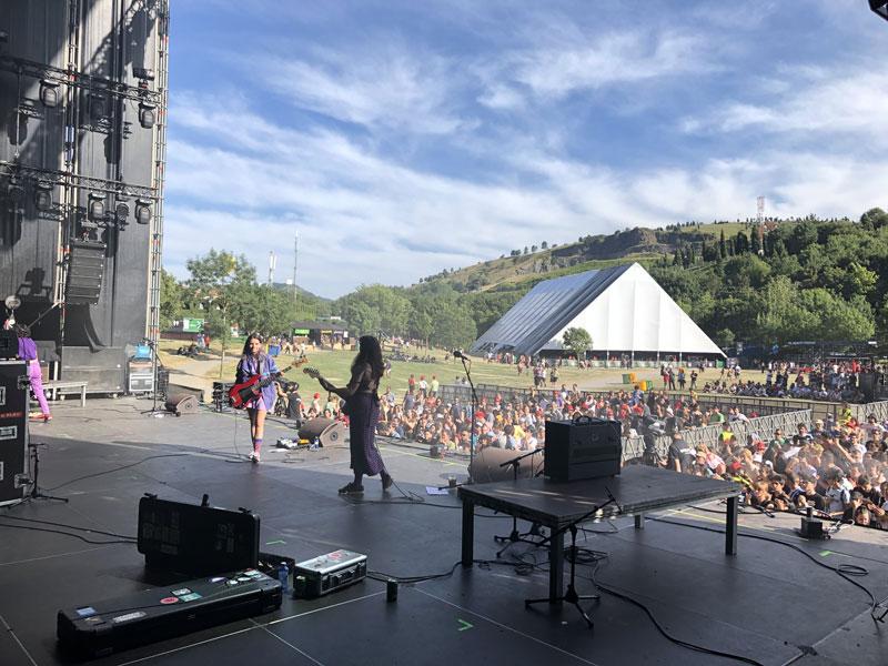 Diario visual de Mourn en el Bilbao BBK Live 2019