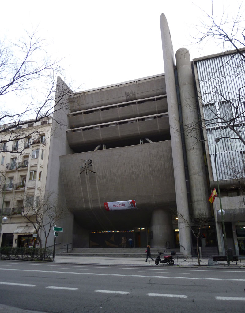Ruta Brutalista Neo2 en Madrid durante la Open House Madrid