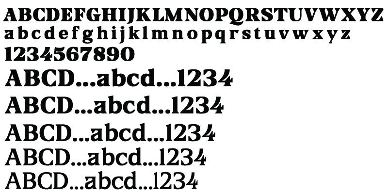 Tipografía gratuita Blaak
