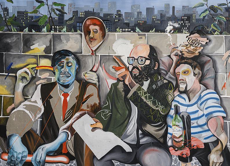 Aullidos! Expo de pintura en Herrero de Tejada