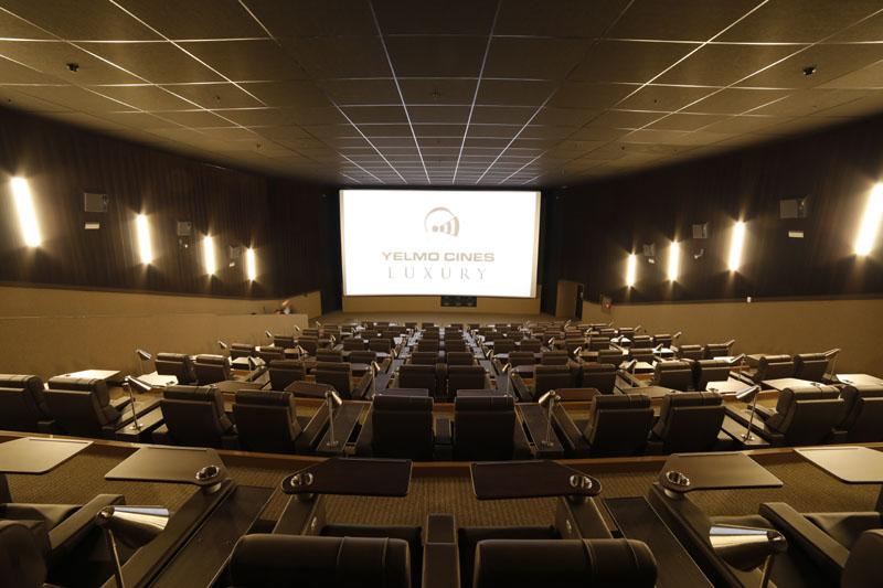Cine Yelmo Luxury Palafox abre sus puertas en Madrid