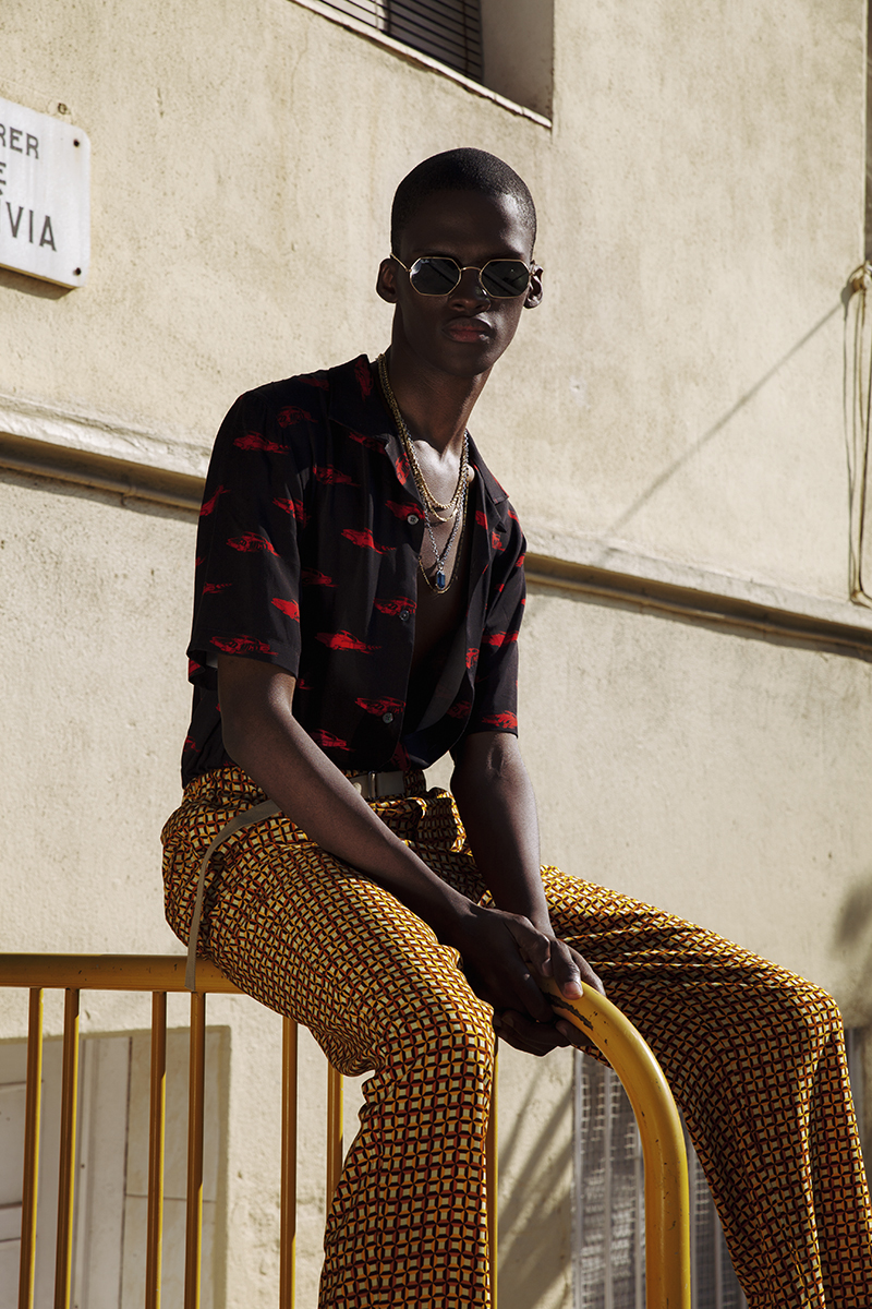 Estilo africano urbano