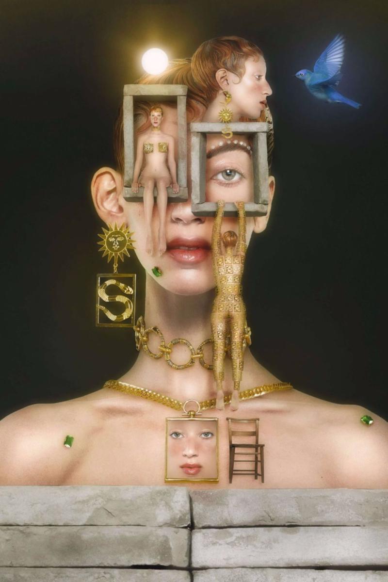 Sita Abellán imagina que las joyas son serpiente salvajes