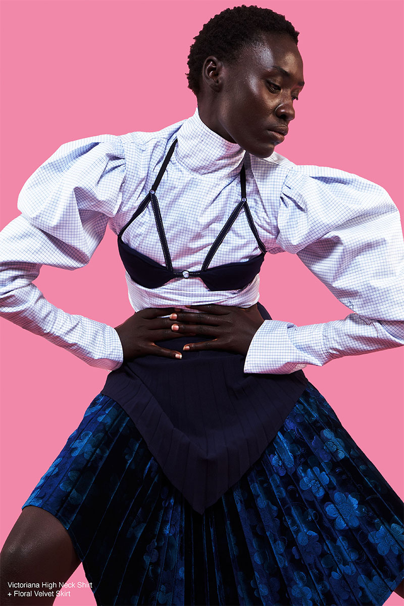 Thebe Magugu, ganador del LVMH Prize 2019