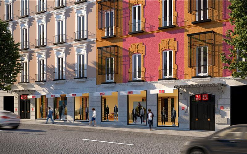 La primera tienda de Uniqlo en Madrid
