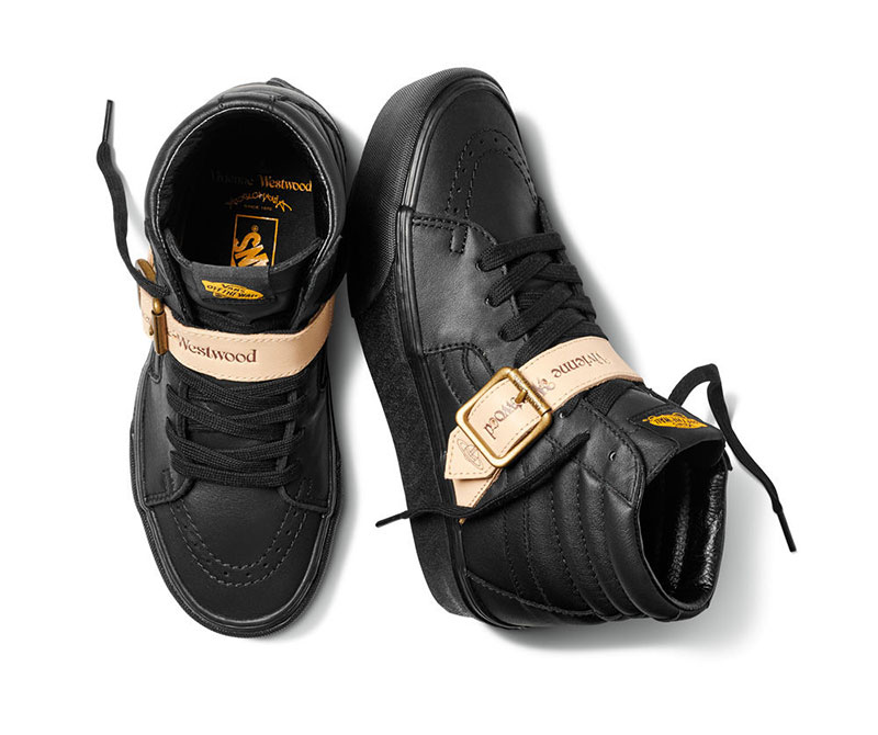 Vivienne Westwood se convierte en zapatillas Vans