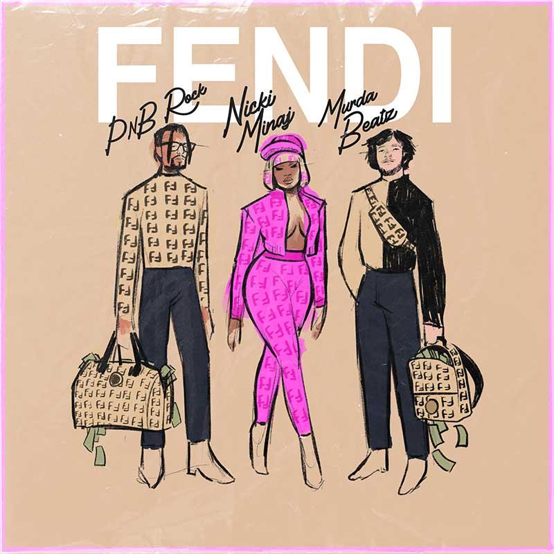 Fendi, Nicki Minaj, Murda Beatz y PnB Rock, ¿quién da más?