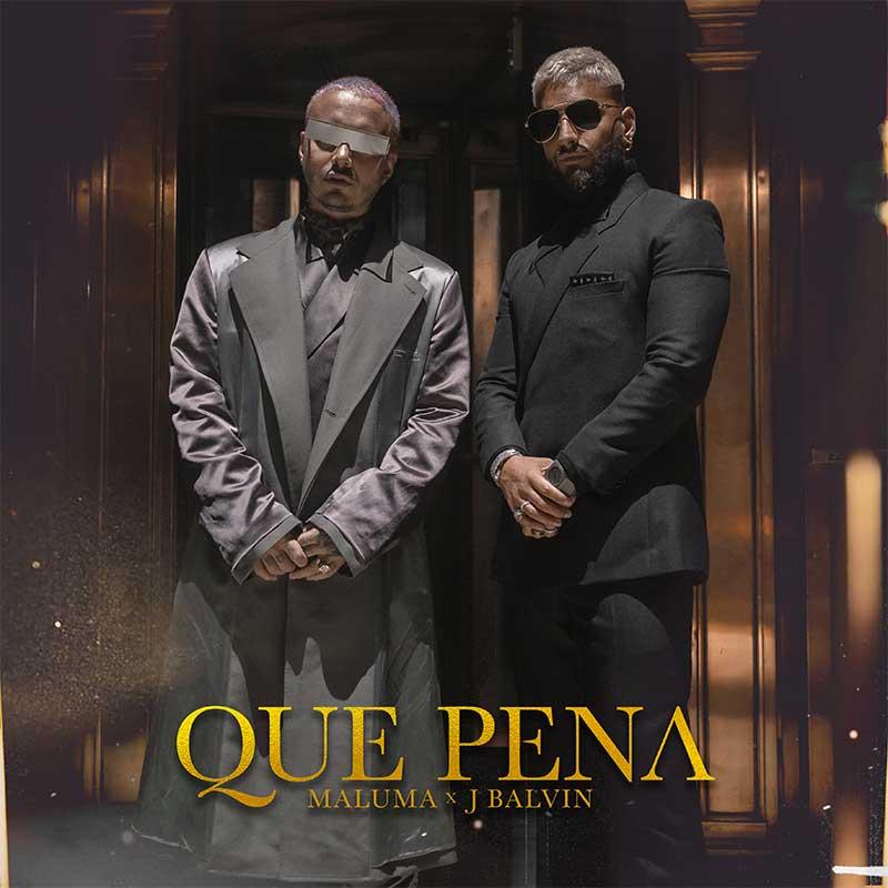 J. Balvin y Maluma juntos en el single Qué Pena