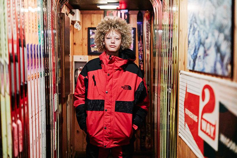 El auténtico snowboarder es The North Face