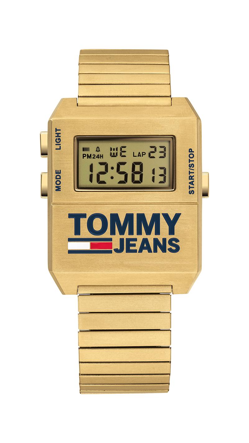 Sunni Colón imagen de los relojes Tommy Jeans