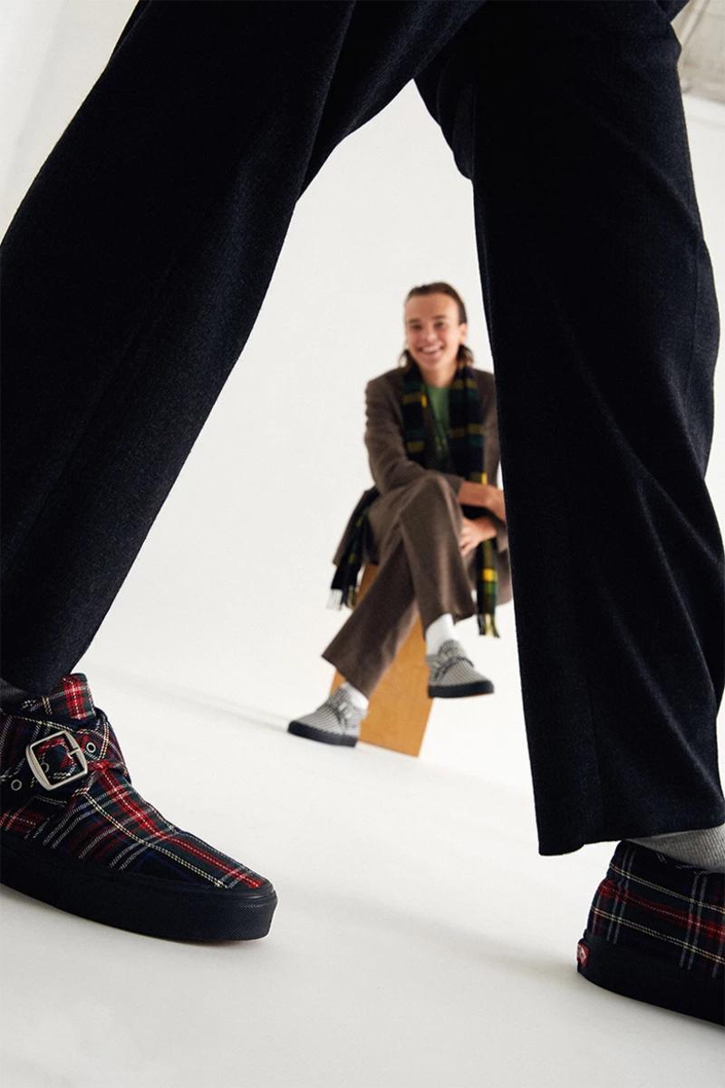 Vans x Noah: El estampado escocés se pone de moda