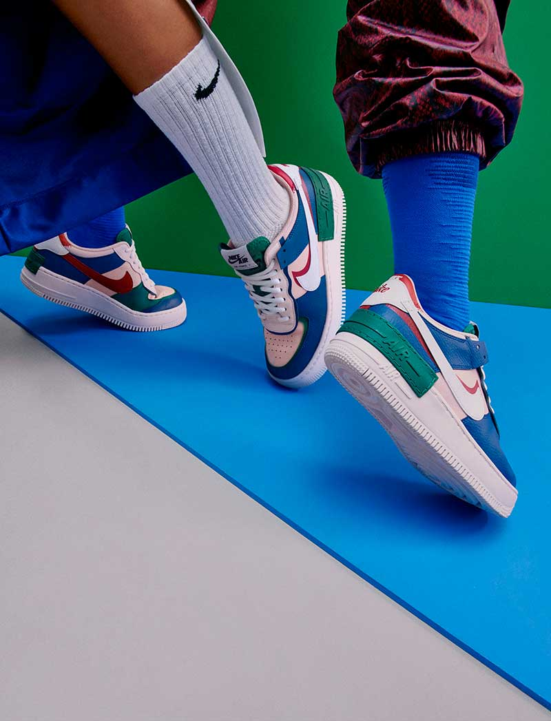 Las Air Force 1 Shadow, las zapatillas de Nike para bailar
