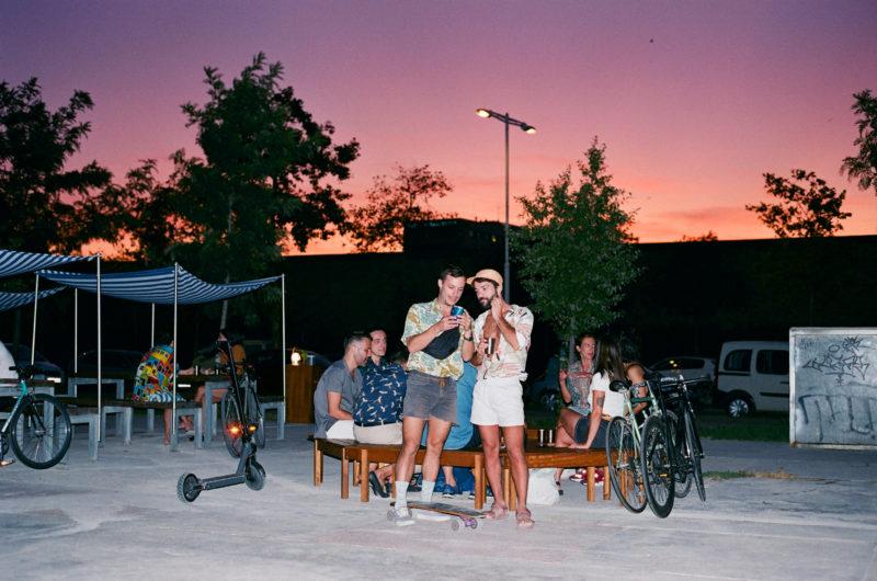 Camping, el nuevo chiringuito urbano de Poblenou, Barcelona