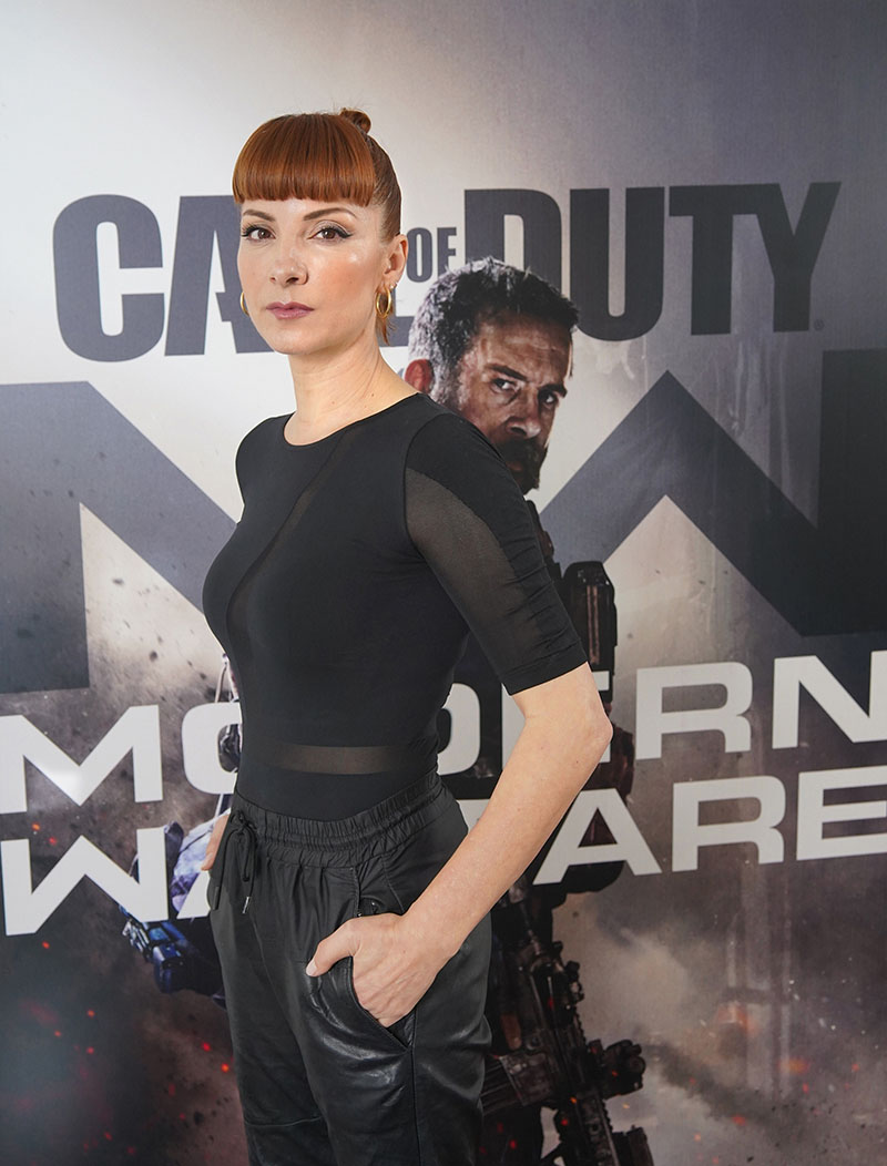 Najwa Nimri en Call of Duty Modern Warfare