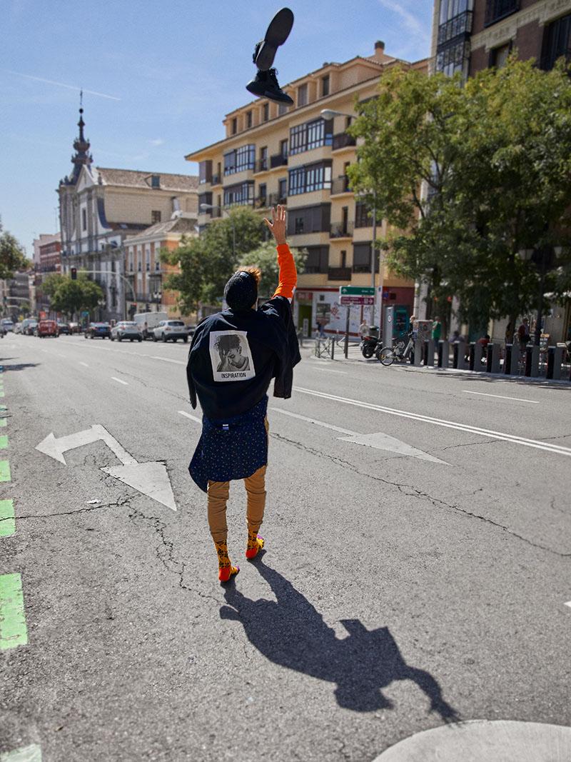 Streetwear al cubo: Raúl San Juan