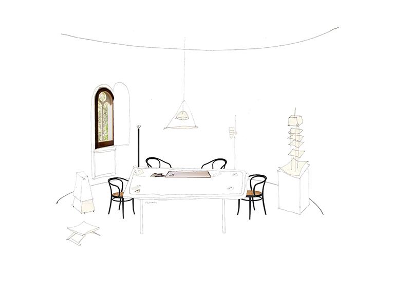 Silvia García Camps, la Arquitectura desde el Collage