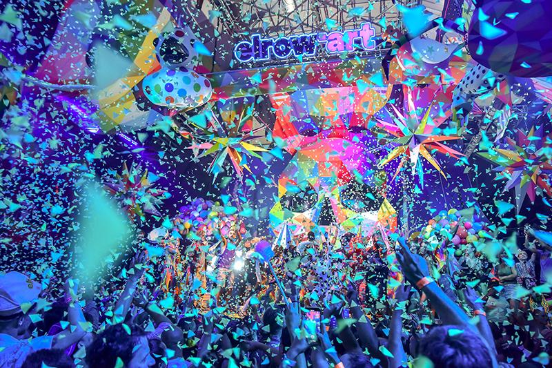 Okuda y Desigual montan una gira de fiestas