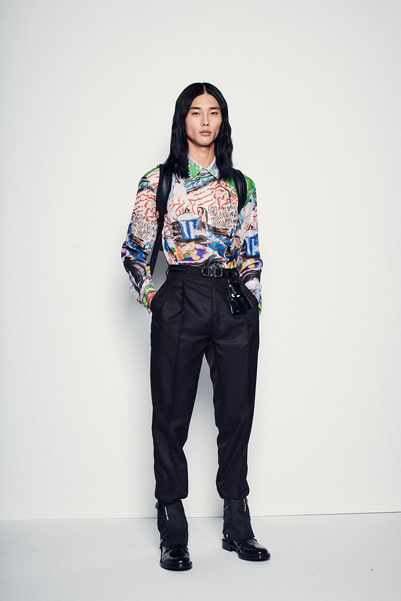 La moda más arty de Dior Men x Raymond Pettibon