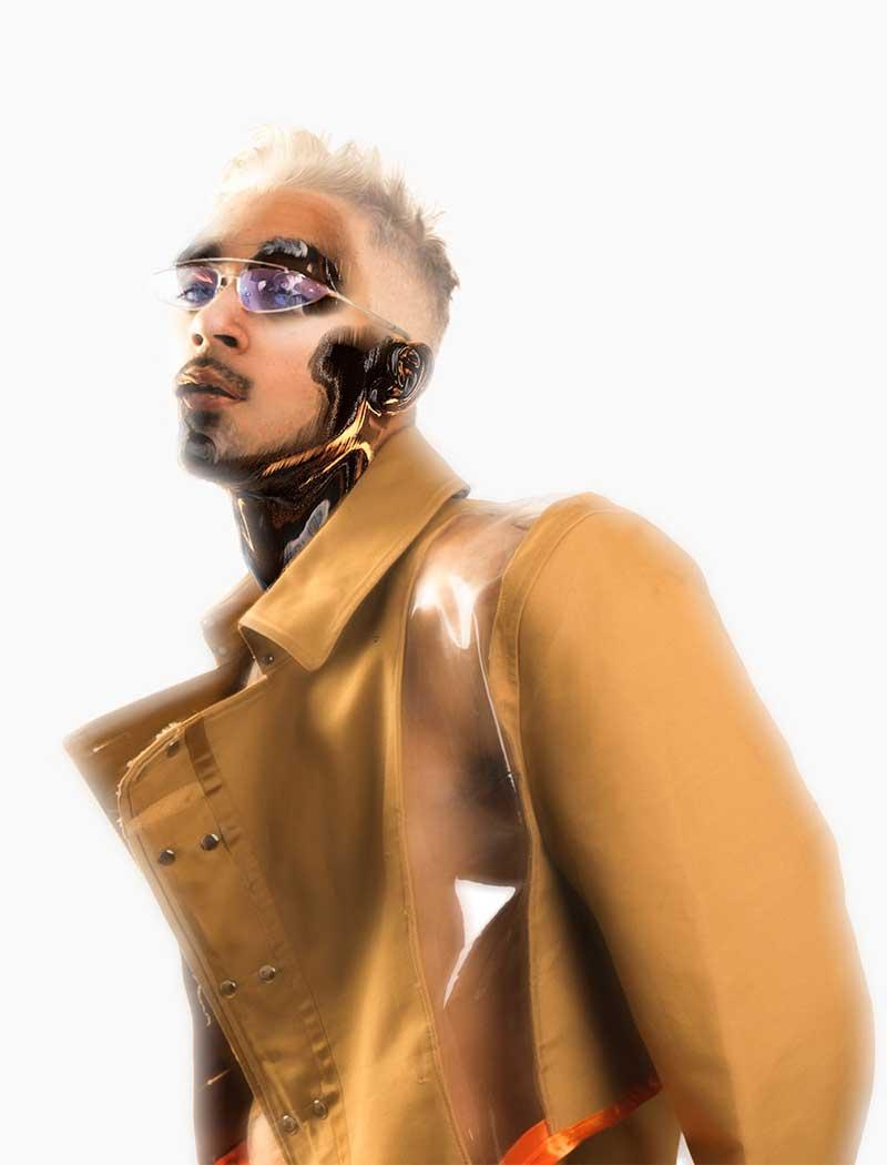 El Trinidad pone el toque cyborg a la música urbana