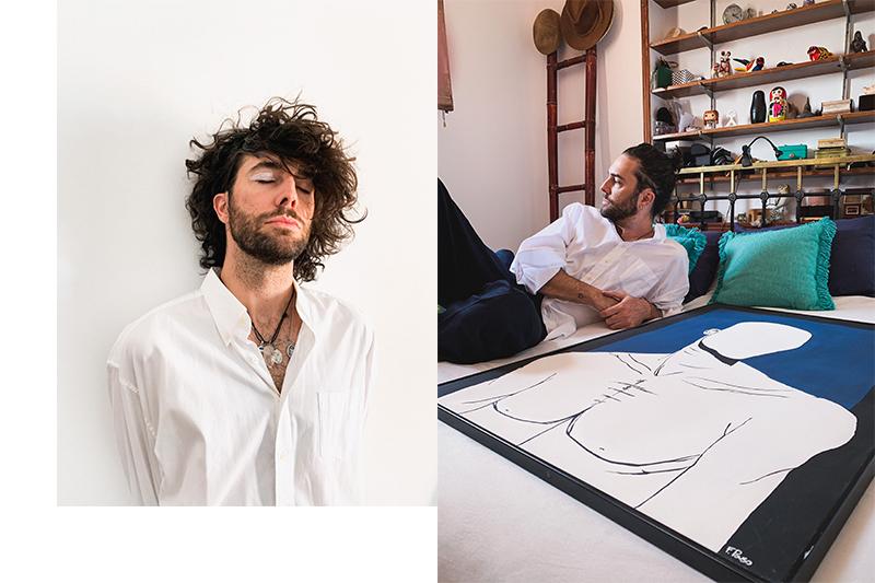 Fede Pouso: El arte es un medio para no volverme loco