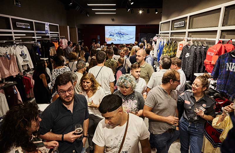 Foot on Mars, la cadena española más importante de sneakers